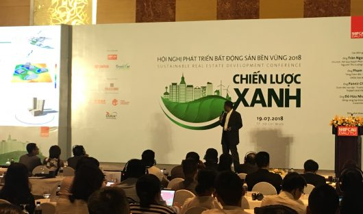 SAIGON CONSTRUCTION CORPORATION (SCC) PARTICIPATED IN SUSTAINABLE REAL ESTATE DEVELOPMENT CONFERENCE 2018 AT INTERCONTINENTAL ASIANA SAIGON HOTEL